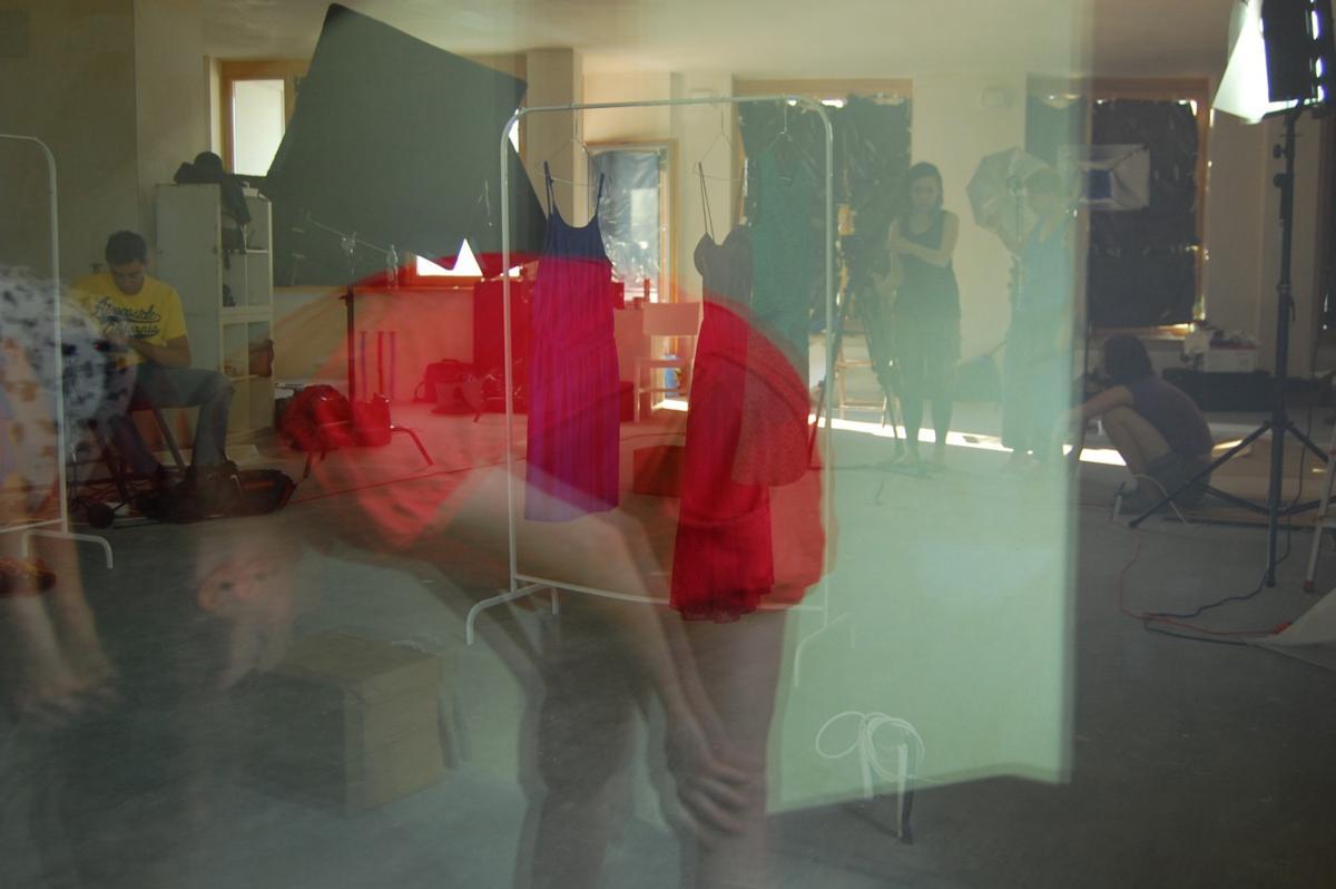 zdjęcia z planu filmu InSide w Warszawie